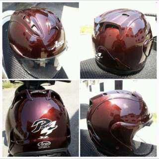 Original Arai Ram 4 Glass Maroon