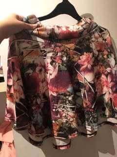 Rok bunga / flower skirt