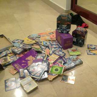 Lots of pokemon cards, all original and loads  rare cards and ex cards