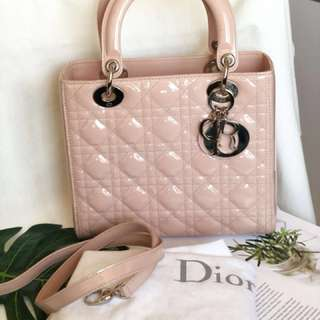 Lady Dior pink! Super nice! Love this!