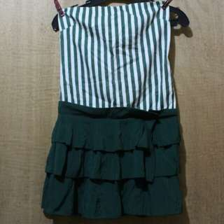 Green lovely dress