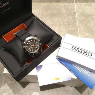 SEIKO PROSPEX The Black Series Special Edition 潛水系列 限量 黑鋼  SSC673P1