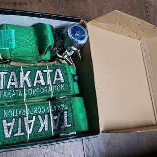 Bnib Takata 4point harness.