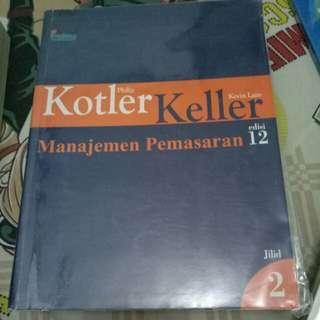 Manajemen Pemasaran Jilid 2 by Philip Kotler Edisi 12
