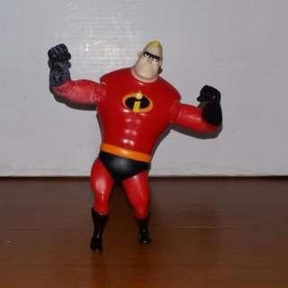 Mr Incredible 2004 Mc Donald's Action Figure
