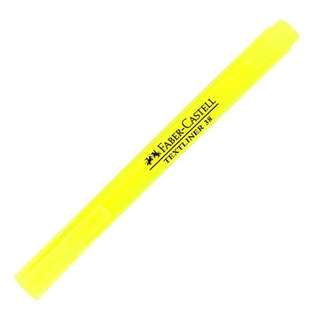 Faber-Castell Highlighter Pen Pocket Text Liner 38, Yellow ink color