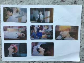 GOT7 Transparent Photocards/小卡