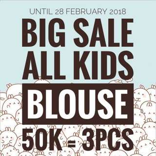 BIG SALE 50K/3PCS