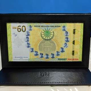 RM60 Commemorative Banknotes