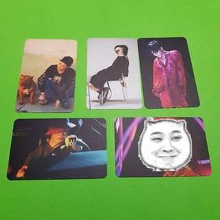 WTB Kwon Ji Yong Making Collection Photocard