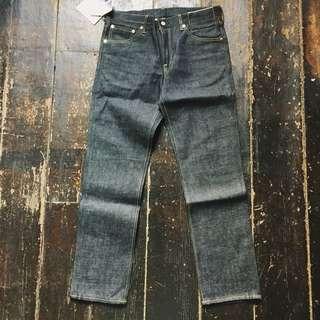 Visvim 04 ss jeans unwashed raw