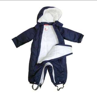 Winter suit for infant