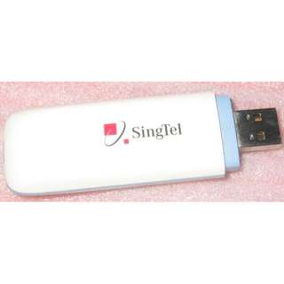 Huawei E153 3G USB Modem stick (Singtel 3g dongle)