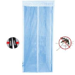 Tirai Mangnet Motif Anti Nyamuk