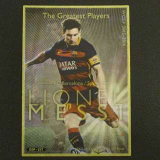 15/16 Panini WCCF Refractor Card The Greatest Players - Lionel MESSI #Barcelona