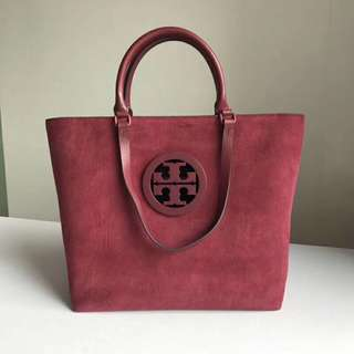 Tory Burch Charlie Tote Red Colour