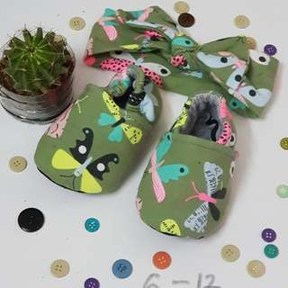 Baby shoe and hairband sets