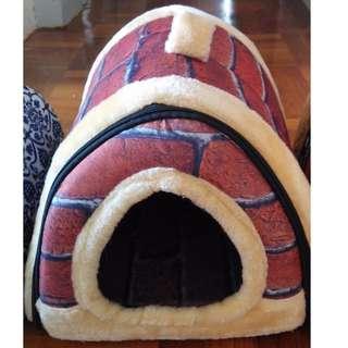 全新 紅磚屋寵物窩