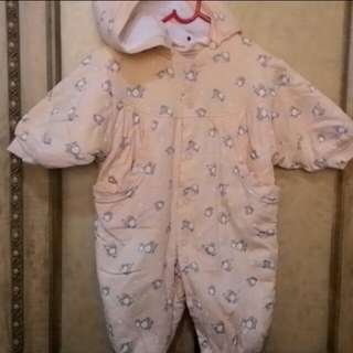 Winter suit for infant