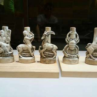 White figurines from japan