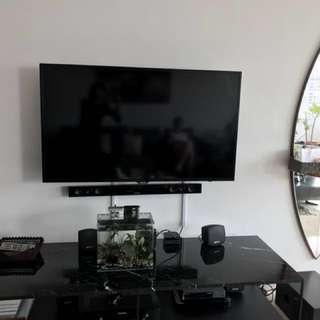 Home Theatre System - quite new, 3 years only, free for you - wireless Samsung soundbar and Subwoofer worth $500 retail price