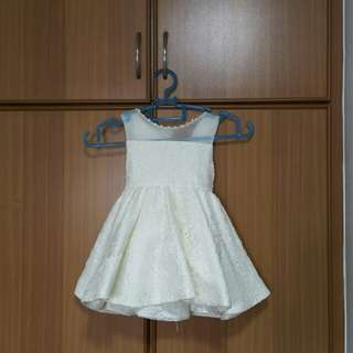 High quality flower girl dress for toddler (up to 80cm)