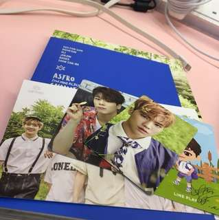 [wts] astro summer vibes unsealed album w pc & poster