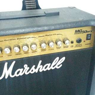 Marshall MG50DFX + footswitch