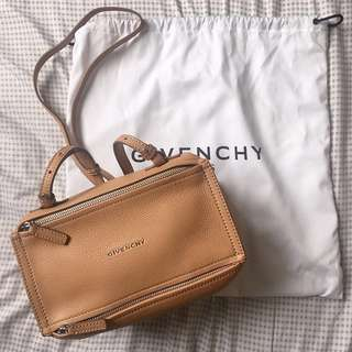 ♥️Givenchy Pandora mini bag 袋 beige 新色 全新