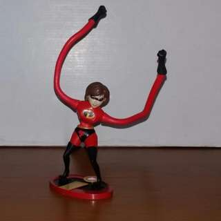 Mrs Incredible Elastigirl 2004 Mc Donald's Action Figure
