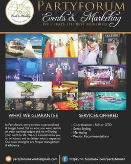 Events Organizing Services