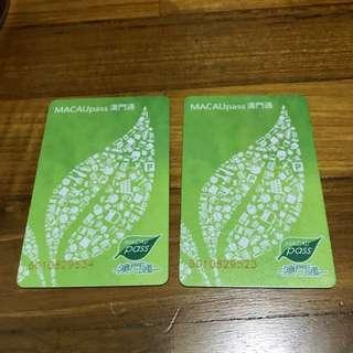 Macau Pass Cards