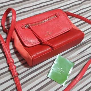 Authentic Kate spade sling ba