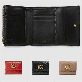 Gucci GG Marmont Matelasse Wallet