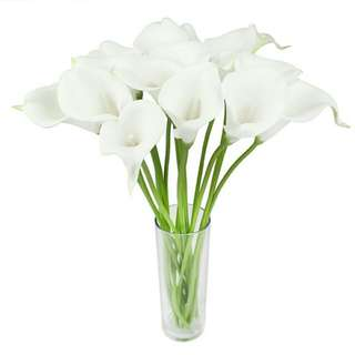 Artificial Lily Flower 2pcs per lot