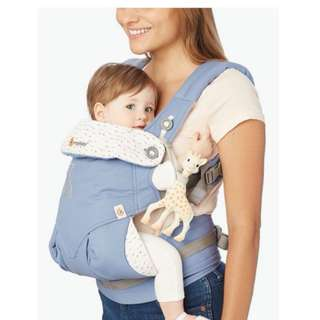 "[CLEARANCE] ErgoBaby Carrier ""Adapt"" ""360 Four Postion"" Sophie la girafe"
