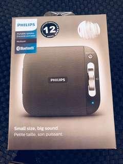 Philips Portable Speaker BT2600B Bluetooth Multipair New