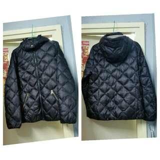 (Size:38)正版AIGLE女裝羽絨外套(可以套上以上GORE-TEX防水防風褸)只穿過一次乾淨99%新