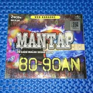 🆕 VA - Mantap: 28 Lagu Malar Segar Rock 80-90an [2014] VCD Karaoke