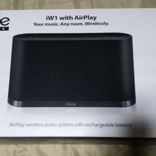 iHome Air Series iW1 with rechargeable battery