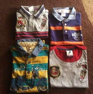 Boy Tshirt Size 2-3tahun