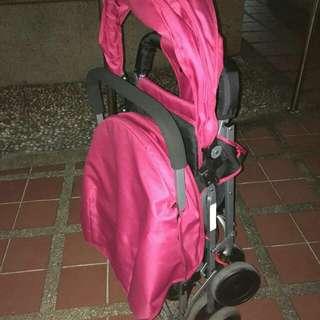 Chris & belle double Stroller