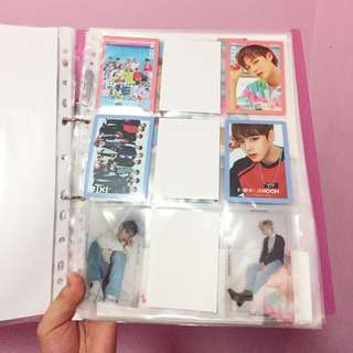 wts - jihoon photocards collection