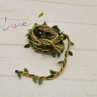 Artificial leaves vine 20m