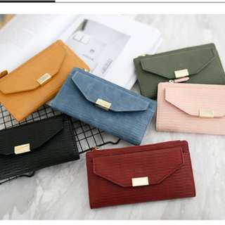 Charles and keith Long Wallet