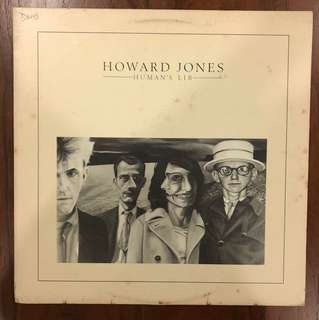 Howard Jones Human's Lib Vinyl LP
