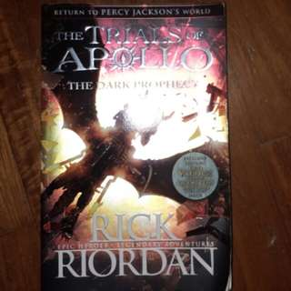 Trials Of Apollo .Greek Gods. Rick Riordan