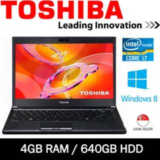 LAPTOP TOSHIBA R930