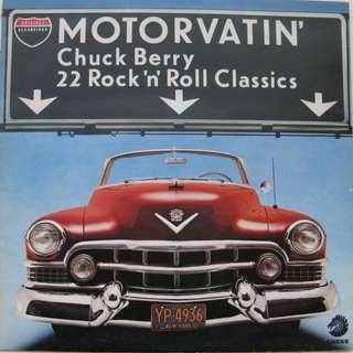 NM Chuck berry compil motorvatin record vinyl vg+ classics