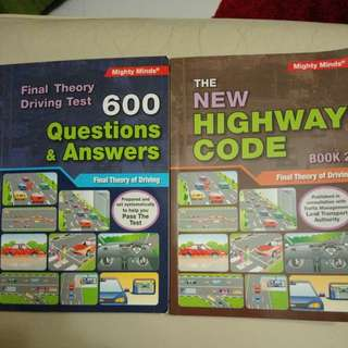 Final theory test books